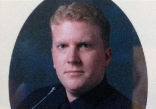 Officer Patrick O'Rourke. Photo: West Bloomfield PD.