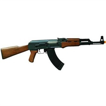 Realistic looking replica guns like this airsoft AK would be banned under the proposed law.