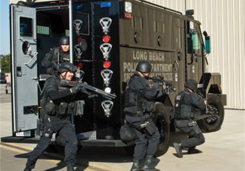 SWAT officers are often equipped with tools that police critics say should be restricted to military use. (Photo: File Photo)