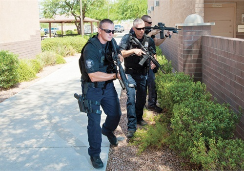 Swatting is the act of calling in a fake active shooter or hostage situation in order to trigger a tactical police response. (Photo: File Photo)