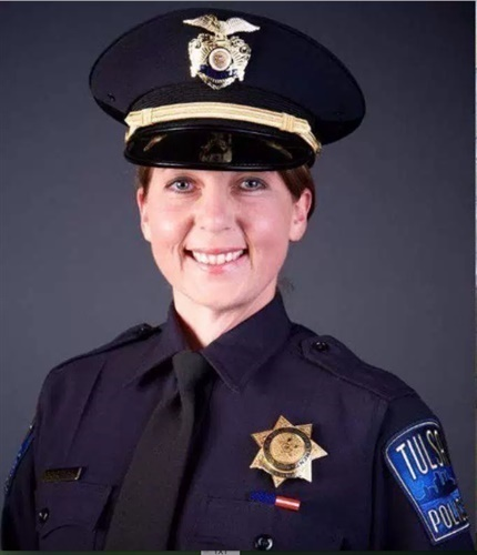 Officer Betty Shelby of the Tulsa Police Department has resigned. Shelby was acquitted of manslaughter in the fatal shooting of Terence Crutcher. (Photo: Tulsa PD)