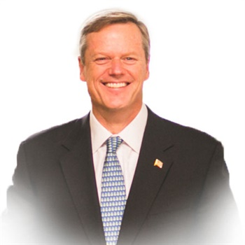 Massachusetts Gov. Charlie Baker signed a law doubling the death benefit for families of Massachusetts first responders killed in the line of duty. (Photo: http://www.charliebakerma.com)