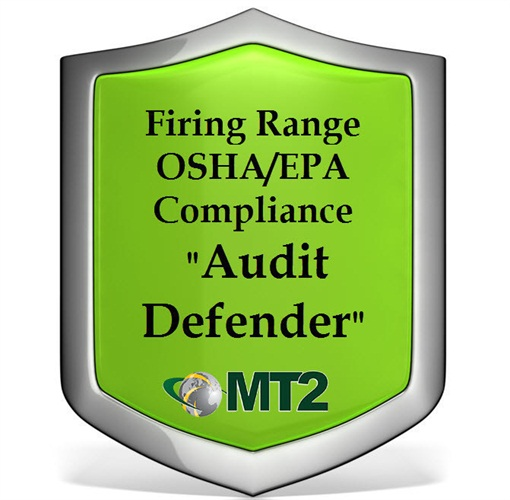 """MT2 is offering a new Firing Range Compliance """"Audit Defender"""" Consulting Package."""