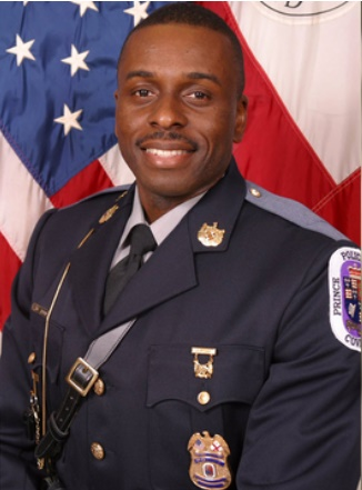 Cpl. Mujahid Ramzziddin of the Prince George's County (MD) Police Department was shot and killed Wednesday morning while trying to protect a domestic violence victim. (Photo: Prince George's County PD)