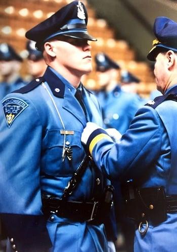 Massachusetts State Police Trooper Matthew F. Daigle