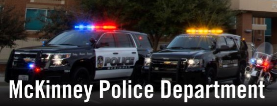 Image courtesy of McKinney Police Department / Facebook.