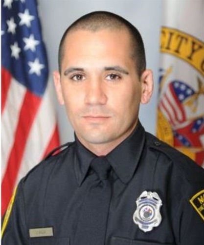 Mobile, AL, police officer Justin Billa was killed Tuesday night by a murder suspect. The suspect was found dead after a barricade incident. (Photo: Mobile PD)