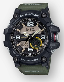 Master of G MUDMASTER GG1000-1A3 (Photo: Casio)