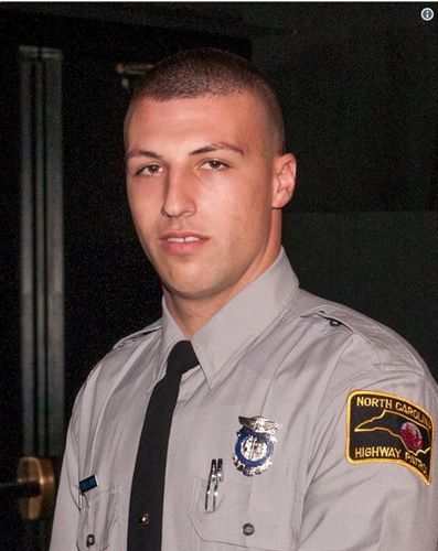 North Carolina Trooper Samuel Newton Bullard was killed in a pursuit crash Monday night. (Photo: NCHP/Twitter)