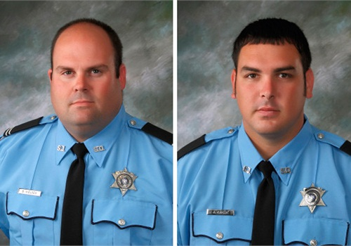 St. John the Baptist Parish Sheriff's DeputiesBrandon Nielsen (left) and Jeremy Triche.
