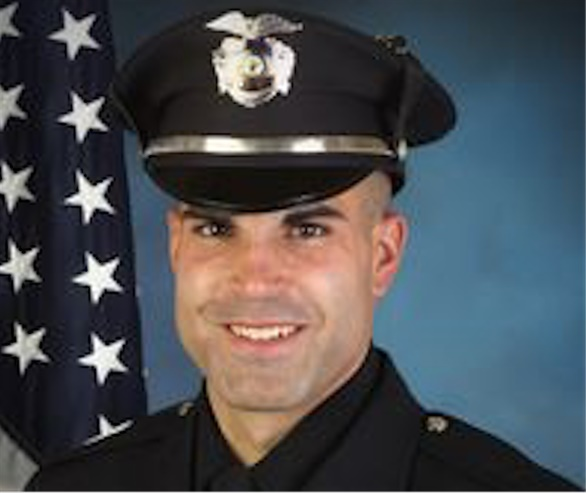 Officer Matthew Tarentino of the Summit (NJ) Police Department was killed Tuesday in a multi-vehicle accident. He was driving to work at the time. (Photo: Summit PD)
