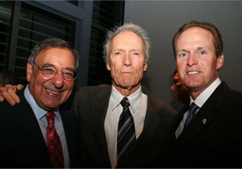 "Leon E. Panetta, secretary of defense; Clint Eastwood, ""J. Edgar"" director; and Craig W. Floyd, chairman and chief executive."