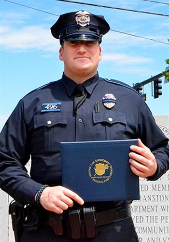Officer Brenton Medeiros (Photo: NLEOMF)