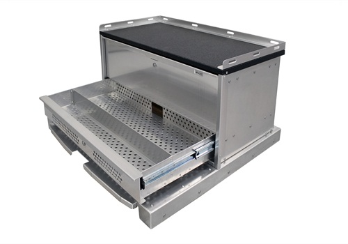 OPS Public Safety Stacked Radio Drawer Unit for the Ford Explorer PIU