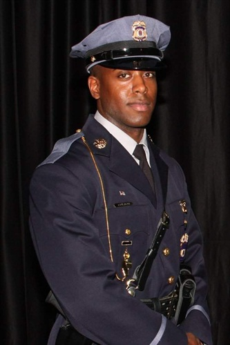 Officer Jacai Colson was killed Sunday in a coordinated attack on his station. (Photo: Prince George's County PD)