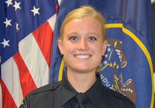 Logan PoliceOfficer Rozalyn Newman. Photo courtesy of Logan (UT) Police / Facebook.