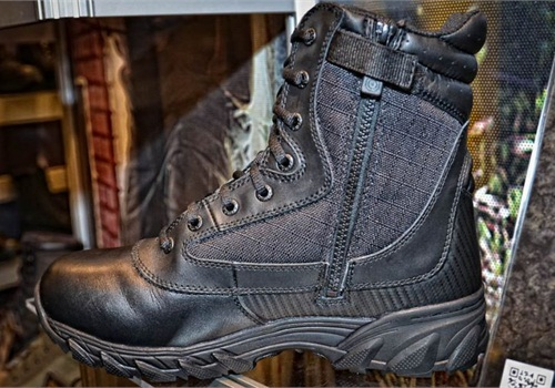 Original S.W.A.T.'s 9-inch Chase side-zip boot. Photo: Mark W. Clark
