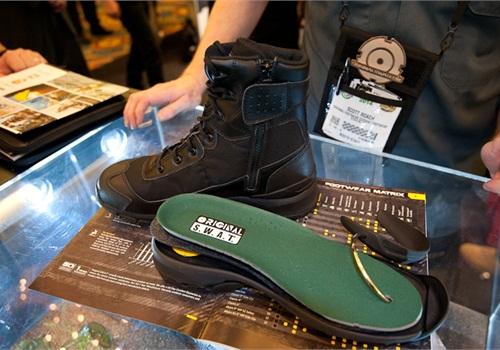 Original S.W.A.T.'s new H.A.W.K. boot features a multi-element support system called Flex-Lite. (Photo: Mark W. Clark)