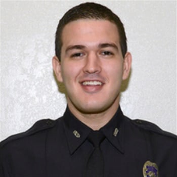 Orlando PD Officer Kevin Valencia shows some signs of recovery after being shot in a standoff. Photo: Orlando PD