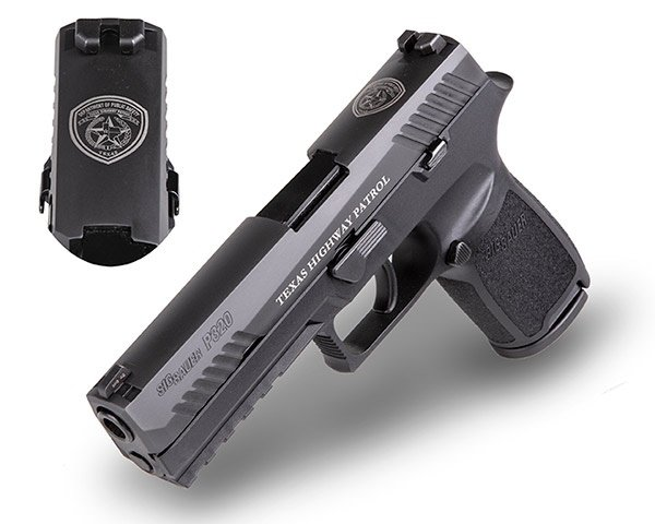 Texas Department of Public Safety Selects SIG P320 as Duty