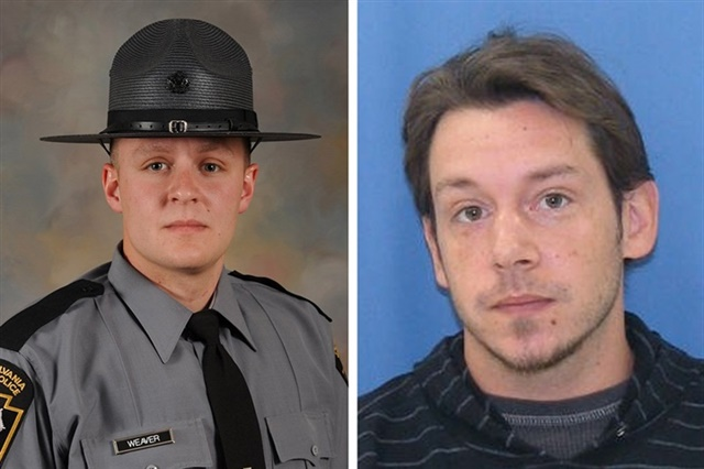 Pennsylvania State Trooper Landon Weaver was killed in Dec. 2016. The shooting of suspect Jason Robison was ruled justified.