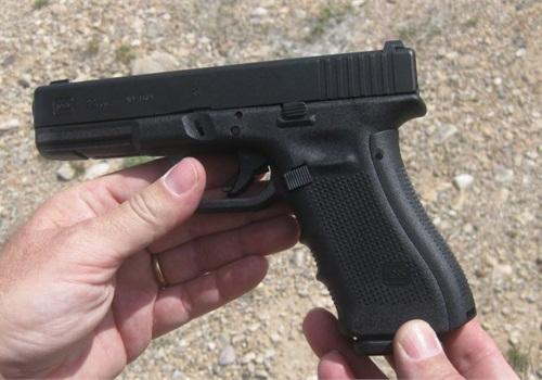A G22 .40-caliber Gen4 Glock. Photo: POLICE file