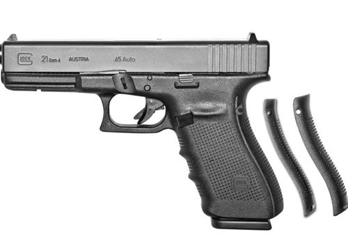 Glock will bring its Gen4 G21 (shown), G32, and G34 to the SHOT Show in January. Photo: Glock.