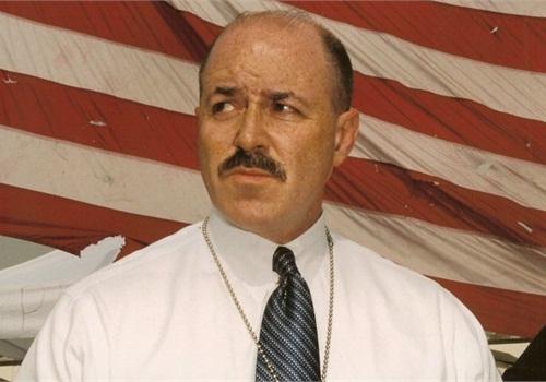 Former NYPD Commissioner Bernard Kerik on 9/11. Photo via Wikimedia.