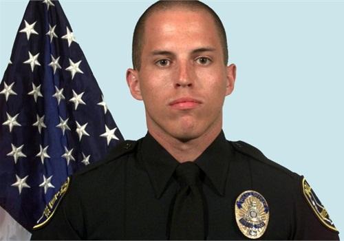 Riverside PD's Officer Ryan Bonaminio. Photo: POLICE file