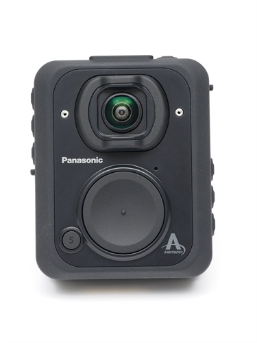 The new Panasonic Arbitrator BWC offers extended battery life in a tough new design. (Photo: Panasonic)