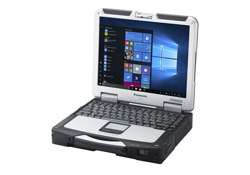 Panasonic's updated Toughbook 31 features a new processing system. Photo: Panasonic