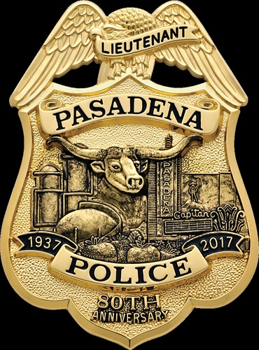 Smith & Warren won an innovation award for its design of the Pasadena (TX) Police Department badge. (Photo: Smith & Warren)