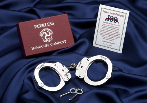 Photo: Peerless Handcuff Company