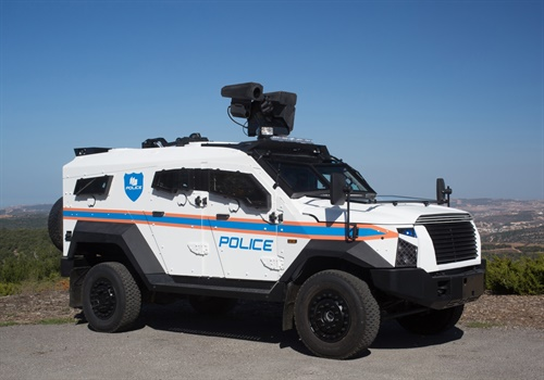 Plasan SandCat Stormer armored SUV (Photo: Plasan)