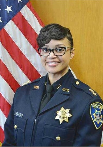 Asistant Chief Danielle Outlaw of the Oakland (CA) Police Department will be the first African American woman to head the Portland Police Bureau.