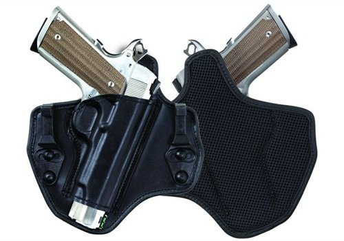 Bianchi's 135 Supression is one of three Allusion concealment holsters. Photo: Safariland