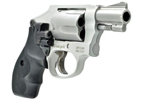 LaserLyte's CK-SWAT side-mount laser fits Taurus and S&W J-frame (pictured) revolvers. Photo: LaserLyte