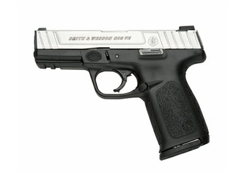 Smith & Wesson's SD9 VE with 16+1 capacity. Photo: S&W