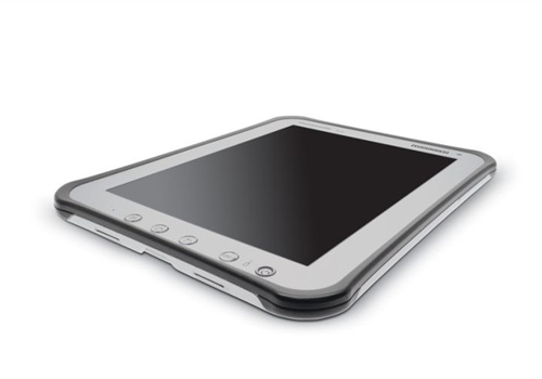 Panasonic's 10-inch Toughpad A1 will be available in the spring. Photo: Panasonic