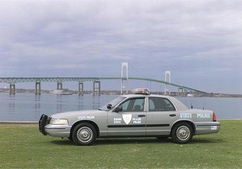 The Rhode Island State Police plan to replace an aging fleet with its share of Google funds. Photo: Rhode Island DPS