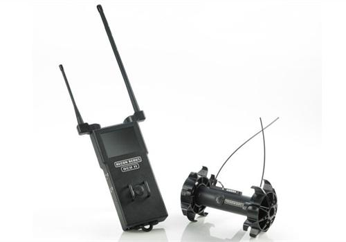 The Throwbot XT and hand-held Operator Control Unit (OCU) II. Photo: ReconRobotics