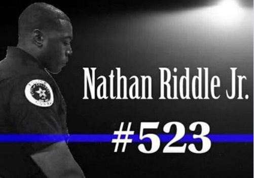 Officer Nathan Riddle of the  Conway (AR) Police Department died Sunday after complications due to pneumonia. (Photo: Conway PD/Facebook)
