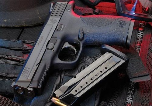 The Los Angeles County Sheriff's Department is now issuing its deputies Smith & Wesson's M&P9 9mm service pistol as it moves away from Beretta's Model 92 9mm pistol. The agency has experienced both better shooting scores and an increase in accidental discharges. (Photo: Smith & Wesson)