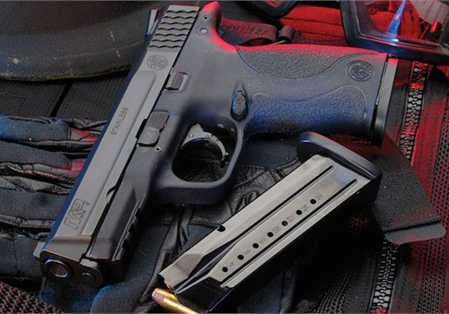 The Los Angeles County Sheriff's Department is now issuing its deputiesSmith & Wesson'sM&P9 9mm service pistol as it moves away from Beretta's Model 92 9mm pistol. The agency has experienced both better shooting scores and an increase in accidental discharges. (Photo: Smith & Wesson)