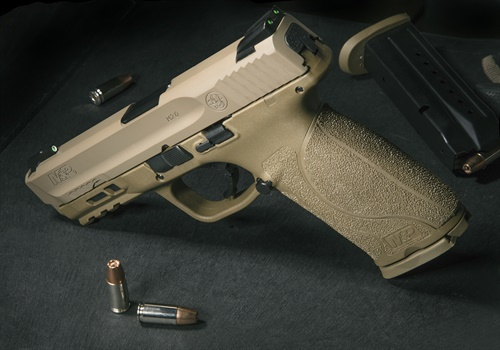 M&P M2.0 pistol with TruGlo TFX sights (Photo: Smith & Wesson)