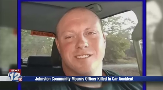 Corporal James Eric Chapman of the Johnston (SC) Police Department was killed in a vehicle accident Friday night. (Photo: WRDW Screen Shot)