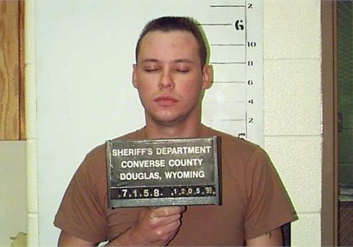 1999 mugshot photo: Converse County (Wyo.) Sheriff's Department