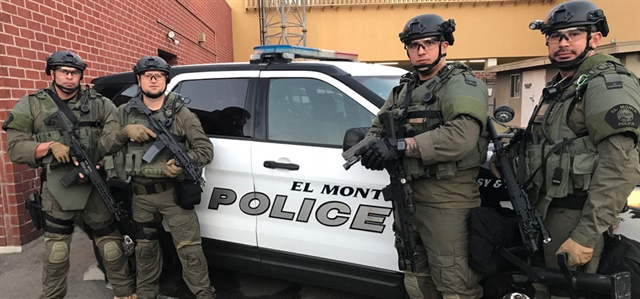 The El Monte (CA) Police Department has selected a full package of SIG Sauer products to create a solution for the department's mission. (Photo: SIG Sauer)