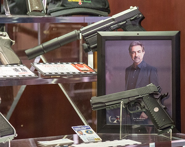Custom SIG Pistol from Criminal Minds Now in NRA Museum - Weapons