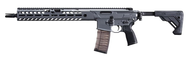 SIG Sauer Inc. has unveiled the MCX Virtus rifle in 5.56 NATO and 300 BLK. (Photo: SIG Sauer)